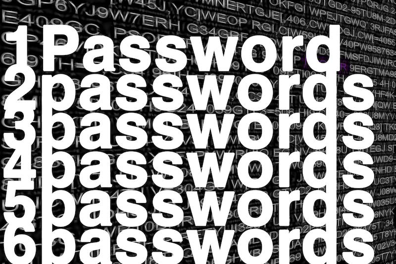Exported passwords