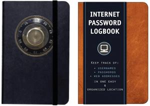 Best Password Organizer Books