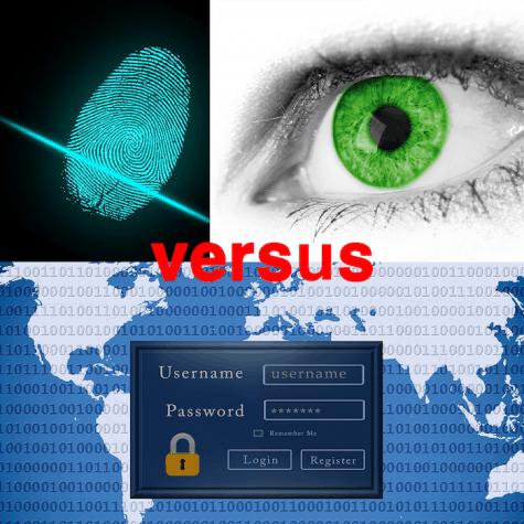 Biometrics vs passwords