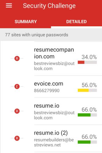 Security Challenge in the LastPass App