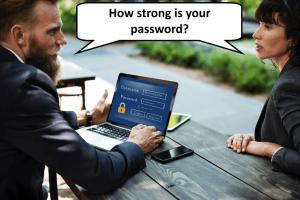 Strong Passwords Men and Women