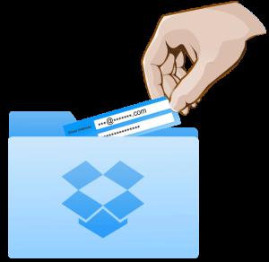 Password Sharing via Dropbox