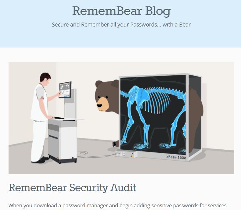 RememBear's Blog