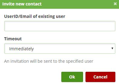 Providing Emergency Contact