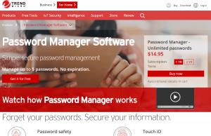 Trend Micro Password Manager.com