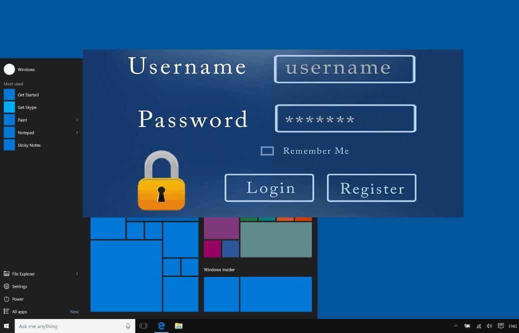 Windows 10 Passwort Manager